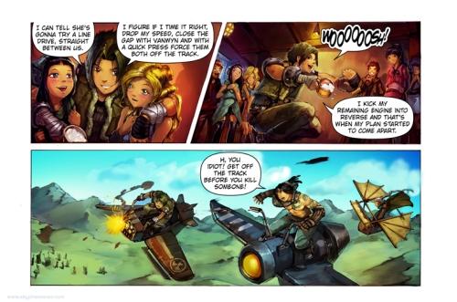 Sky Pirates Of Neo Terra Web Comics Inside The Mind Of Kurtis J